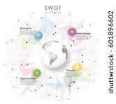 swot    strengths weaknesses...   Shutterstock .eps vector #601896602