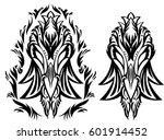 creative design for tattoo ... | Shutterstock .eps vector #601914452