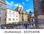 prague  czech republic  ... | Shutterstock . vector #601916048