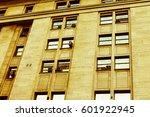 vintage building detail | Shutterstock . vector #601922945