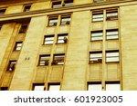 vintage building detail | Shutterstock . vector #601923005