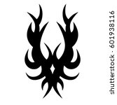 vector tribal tattoo designs.... | Shutterstock .eps vector #601938116