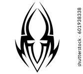 tattoo tribal vector designs...   Shutterstock .eps vector #601938338