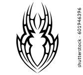 vector tribal tattoo designs.... | Shutterstock .eps vector #601946396