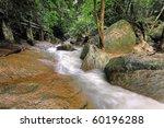 titi kerawang waterfall | Shutterstock . vector #60196288