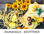 Easter spring theme decoration...