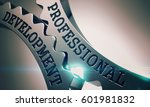 professional development on the ... | Shutterstock . vector #601981832