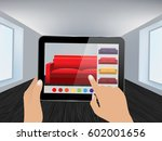 augmented reality app that lets ... | Shutterstock .eps vector #602001656