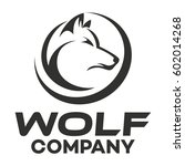 wolf logo | Shutterstock .eps vector #602014268