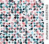 geometric pattern design | Shutterstock .eps vector #602057462