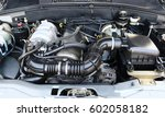 car engine close up | Shutterstock . vector #602058182