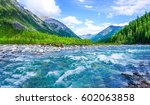Mountain River Nature Forest...