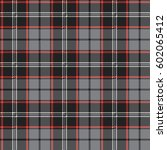 plaid  tartan  seamless pattern.... | Shutterstock .eps vector #602065412