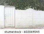 white door | Shutterstock . vector #602069045