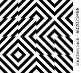 vector seamless pattern.... | Shutterstock .eps vector #602073488