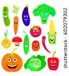 vector illustration of cartoon... | Shutterstock .eps vector #602079302