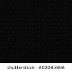 monochrome seamless pattern ... | Shutterstock . vector #602085806