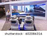 las vegas   jan 08   the... | Shutterstock . vector #602086316
