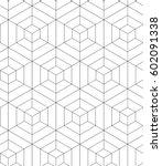 regular geometric. seamless...   Shutterstock .eps vector #602091338