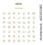 vector graphic set.icons in... | Shutterstock .eps vector #602101382