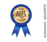 best price medal illustration... | Shutterstock .eps vector #602105972