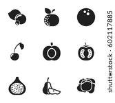 set of 9 editable vegetable...