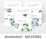 memphis geometric background...   Shutterstock .eps vector #602132882