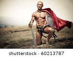 gladiator  image of a well... | Shutterstock . vector #60213787