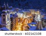 mary magdalene church in... | Shutterstock . vector #602162108