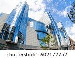 brussels  belgium   may 20 ... | Shutterstock . vector #602172752
