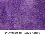 Purple Artificial Fur Texture....