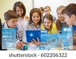education  elementary school ... | Shutterstock . vector #602206322