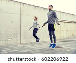 fitness  sport  people ... | Shutterstock . vector #602206922