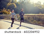 fitness  sport  people and... | Shutterstock . vector #602206952