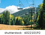 arizona snowbowl in summertime... | Shutterstock . vector #602210192