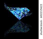 ruby  sapphire  diamond logo ... | Shutterstock .eps vector #602215622