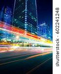 traffic through the modern city   Shutterstock . vector #602241248