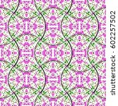 colorful seamless pattern from...   Shutterstock . vector #602257502