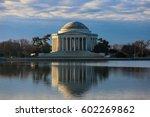 Jefferson Memorial At Sunrise ...