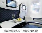 commercial passengers airplane... | Shutterstock . vector #602270612