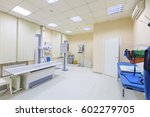 x ray department in modern... | Shutterstock . vector #602279705