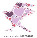 eagle shape vector design... | Shutterstock .eps vector #602298782