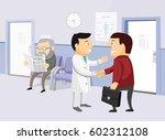 the best medical health care.... | Shutterstock .eps vector #602312108