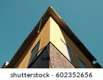 roof detail of an old building | Shutterstock . vector #602352656