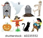 Halloween Collection Of Design...