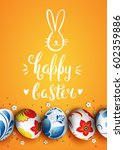 template vector card with... | Shutterstock .eps vector #602359886