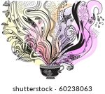 afternoon tea  what's in your... | Shutterstock .eps vector #60238063