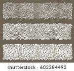 set of animal print background   Shutterstock .eps vector #602384492