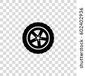 car wheel vector icon | Shutterstock .eps vector #602402936