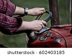 Close Up Of Farmer\'s Hands In...